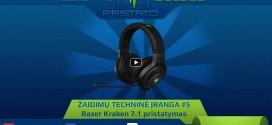 Razer Kraken 7.1 pristatymas